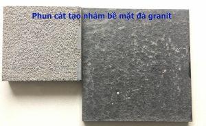 Phun-cát-tạo-nhám-đá-granit