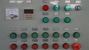 hệ thống PLC máy phun bi thùng đảo