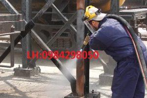 Công dụng của phương pháp phun cát làm sạch