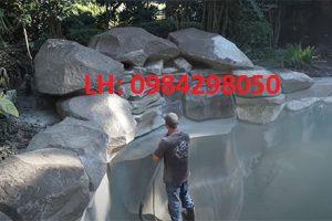 Dịch vụ phun cát làm sạch bể bơi